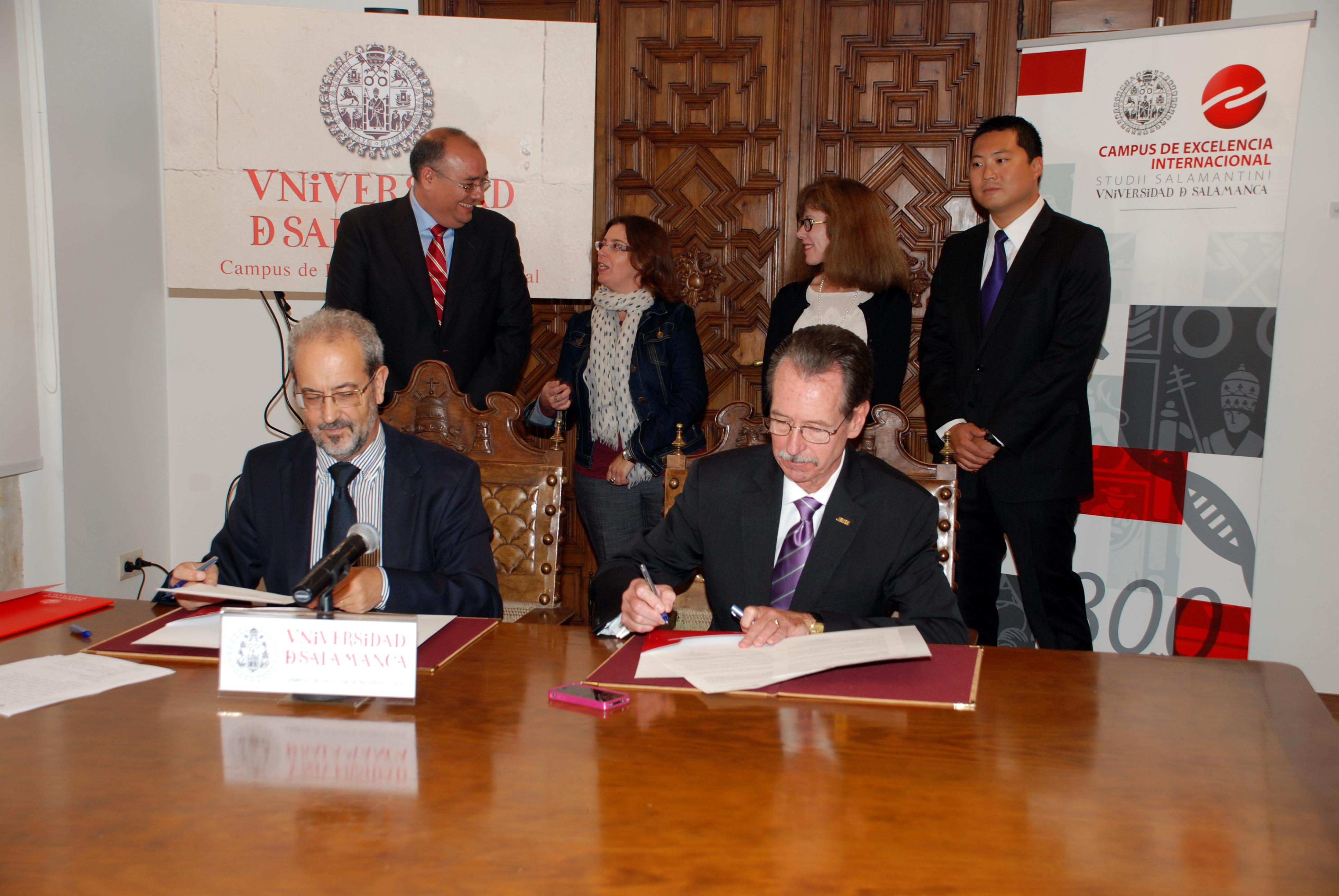 Las universidades de Salamanca y James Madison impartirán un doble título de Máster para la formación de profesores de español