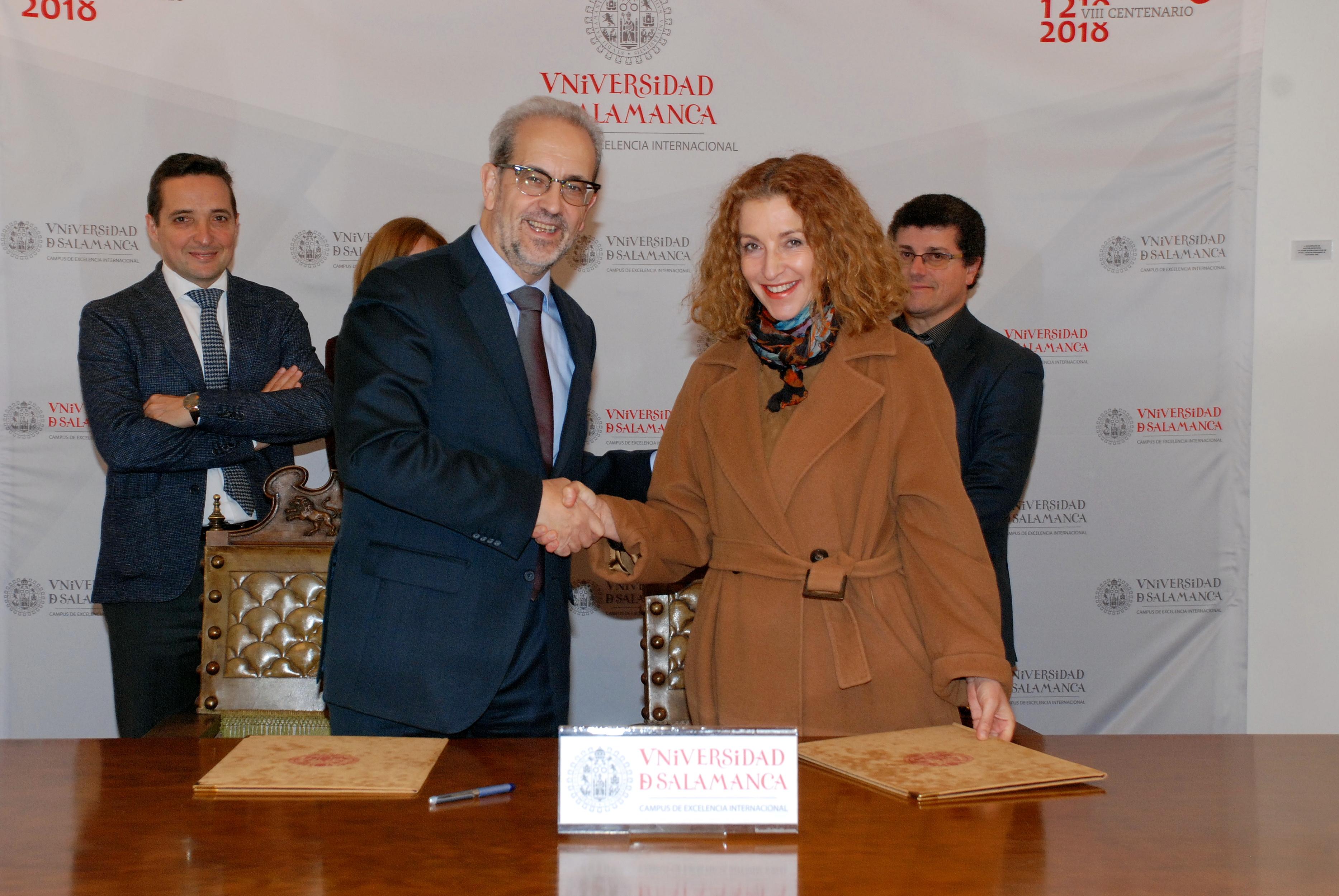 La Universidad de Salamanca y el Instituto Politécnico de Oporto colaborarán en el Doctorado en Ingeniería Informática
