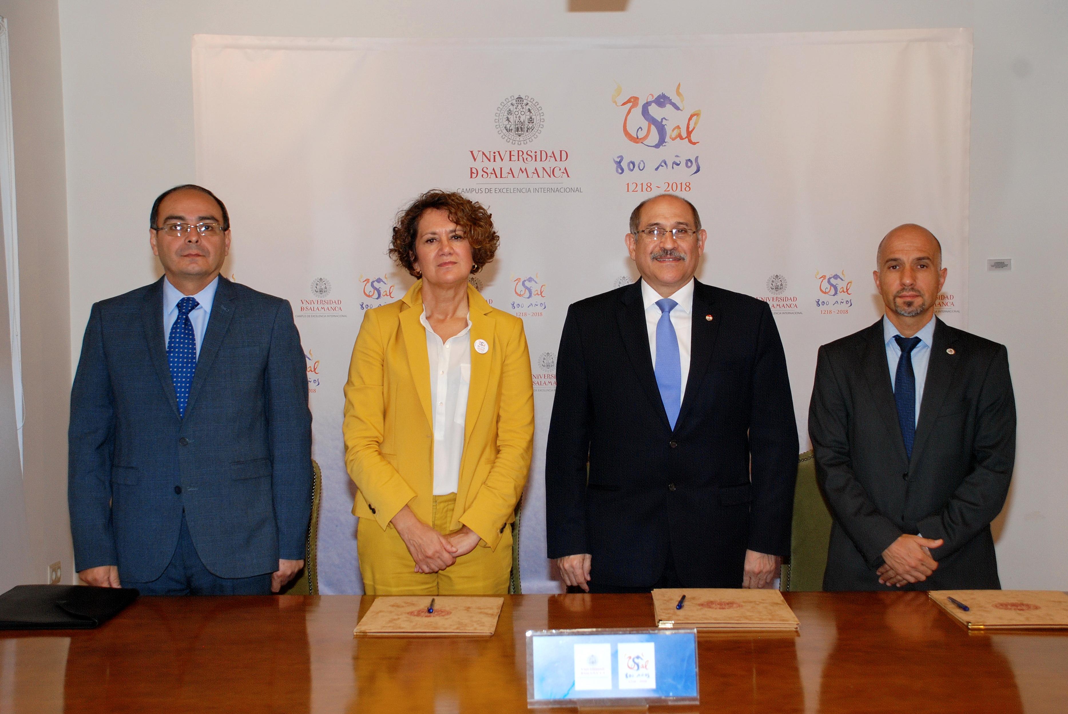 La Universidad de Salamanca suscribe un convenio con el Ministerio de Trabajo de Paraguay