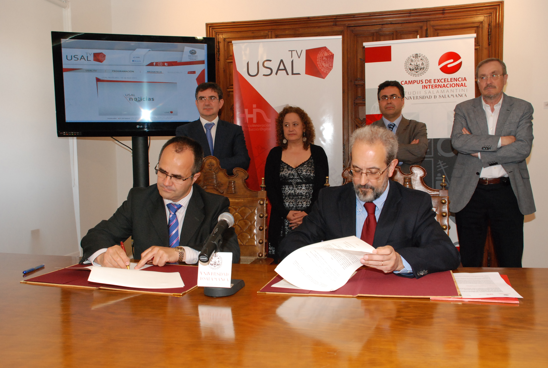 Convenio entre la Universidad de Salamanca y Radio Televisión de Castilla y León