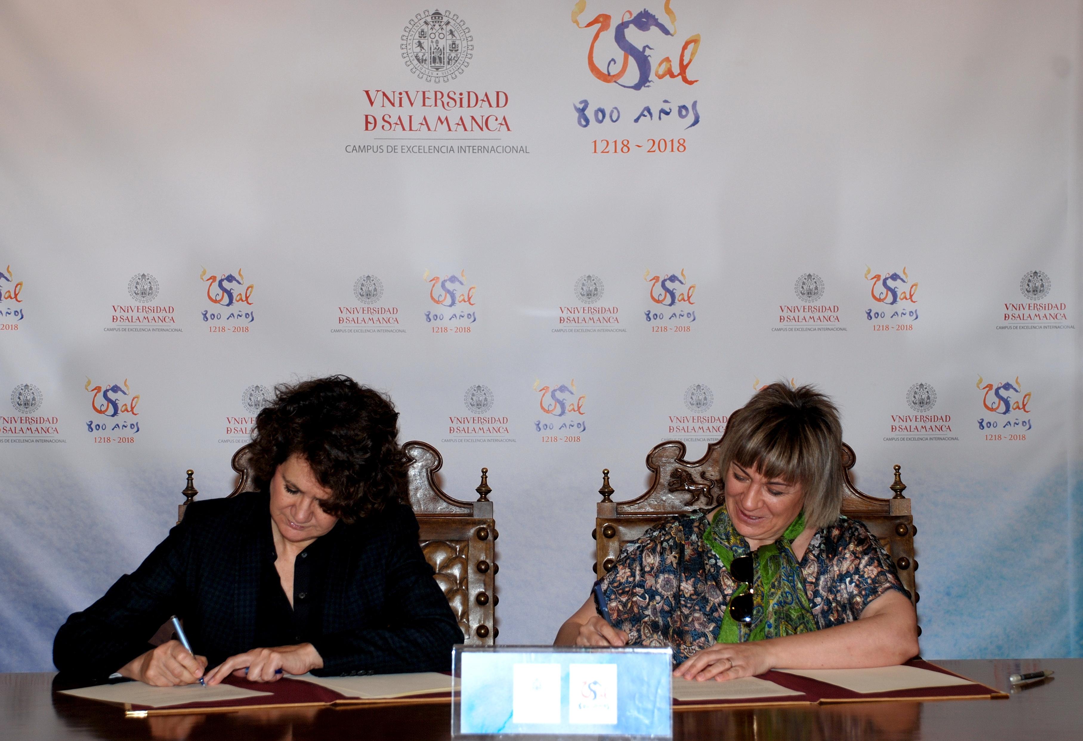 La Universidad de Salamanca y la Asociación de Municipalistas y Género suscriben un convenio marco de colaboración
