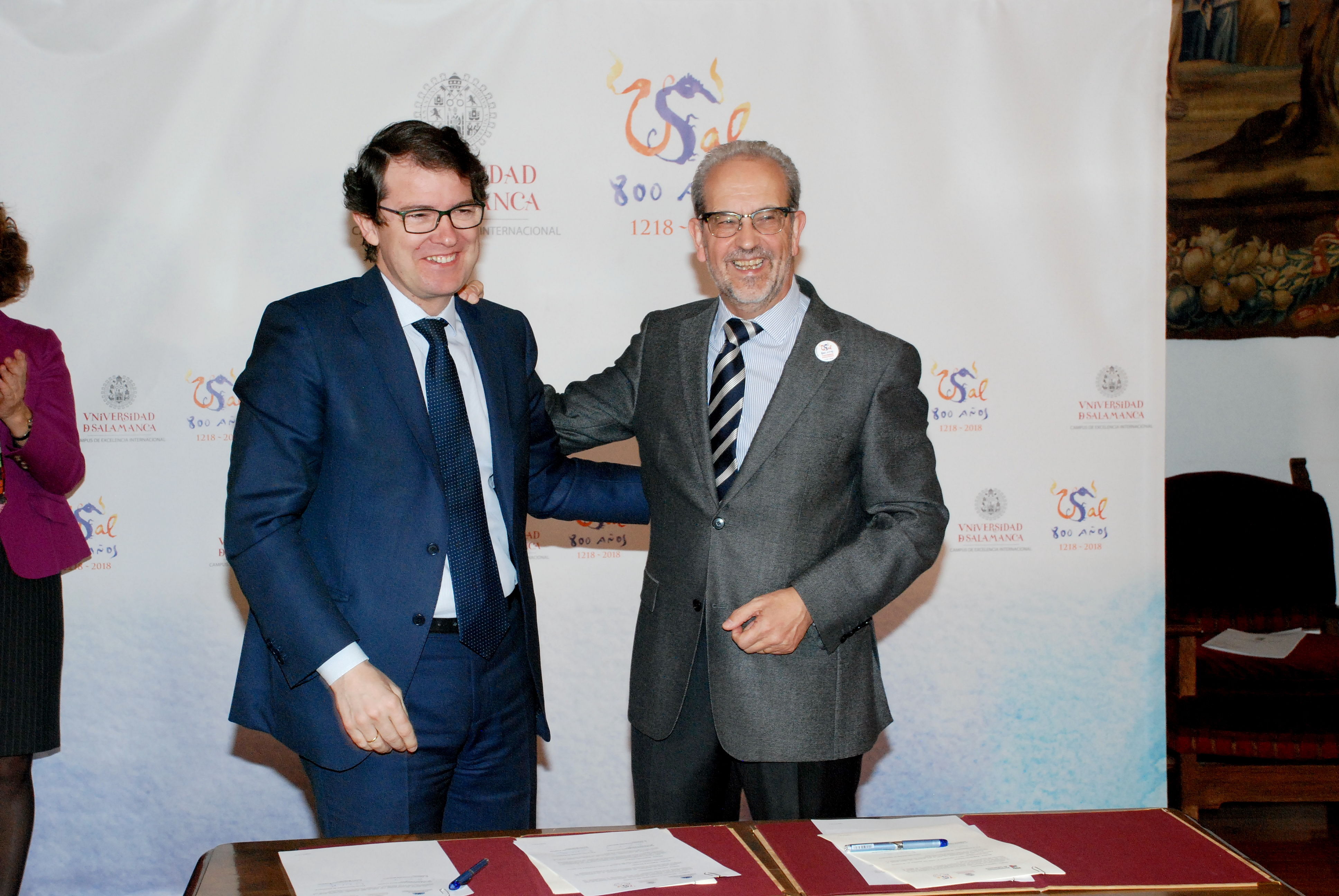 El Ayuntamiento apoya la conmemoración del VIII Centenario de la Universidad de Salamanca a través de diez líneas de actuación