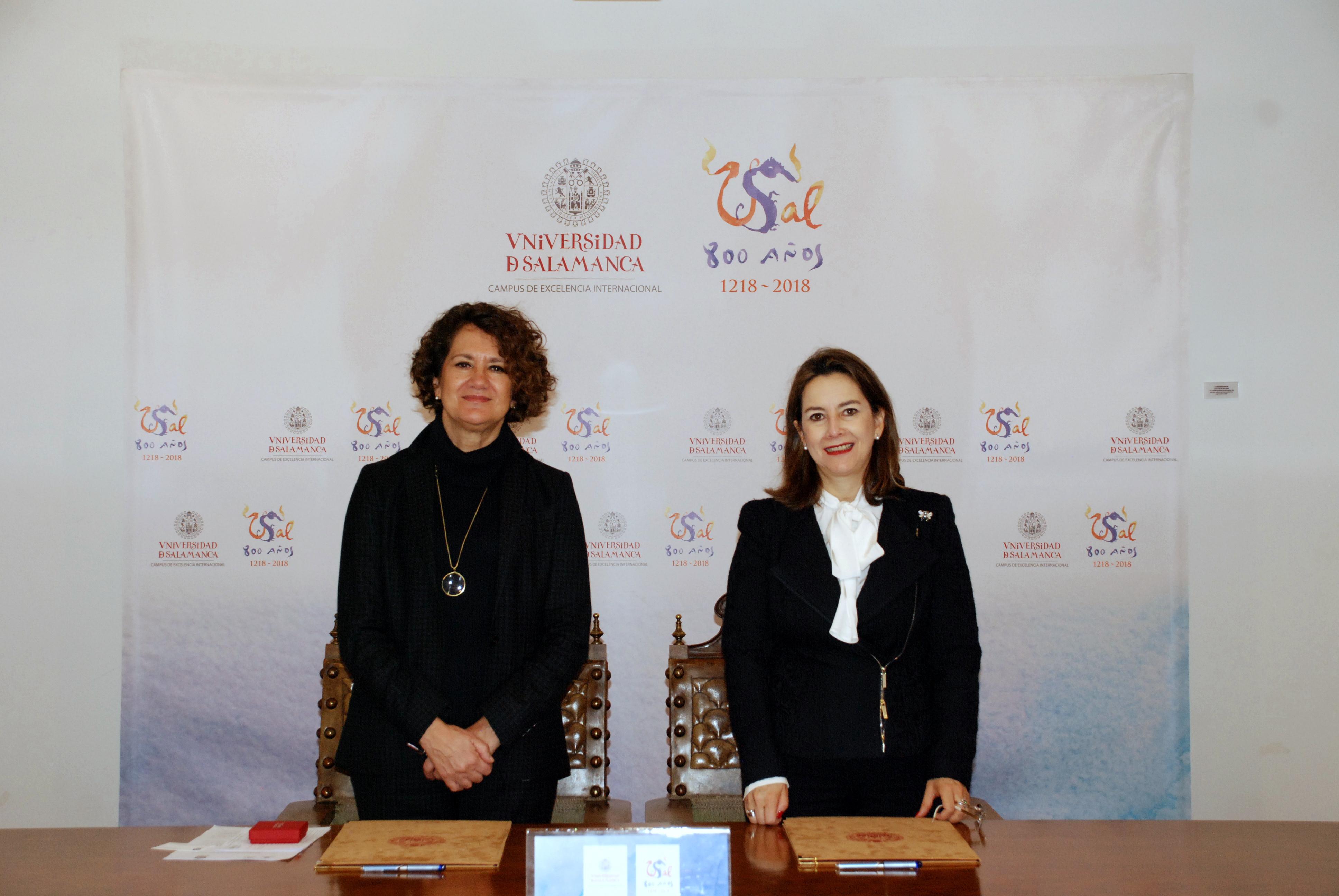 La Universidad de Salamanca y la Organización Iberoamericana de Seguridad Social firman un convenio de colaboración