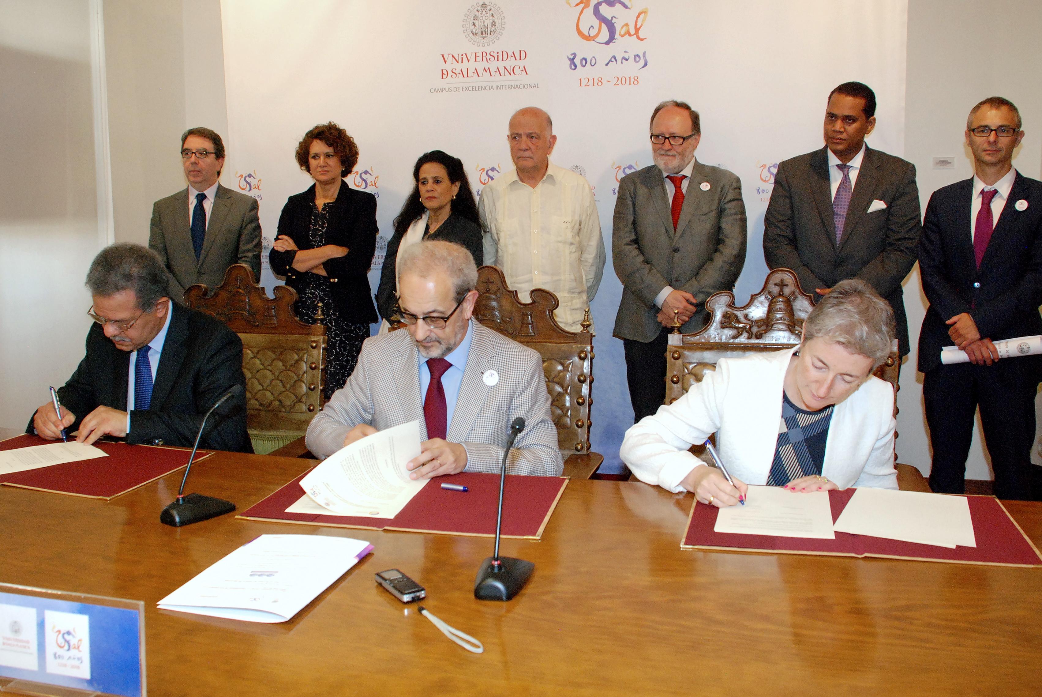La Universidad de Salamanca y la Fundación Unión Europea-América Latina y Caribe unen sus fuerzas para impulsar el espacio latinoamericano de Educación Superior