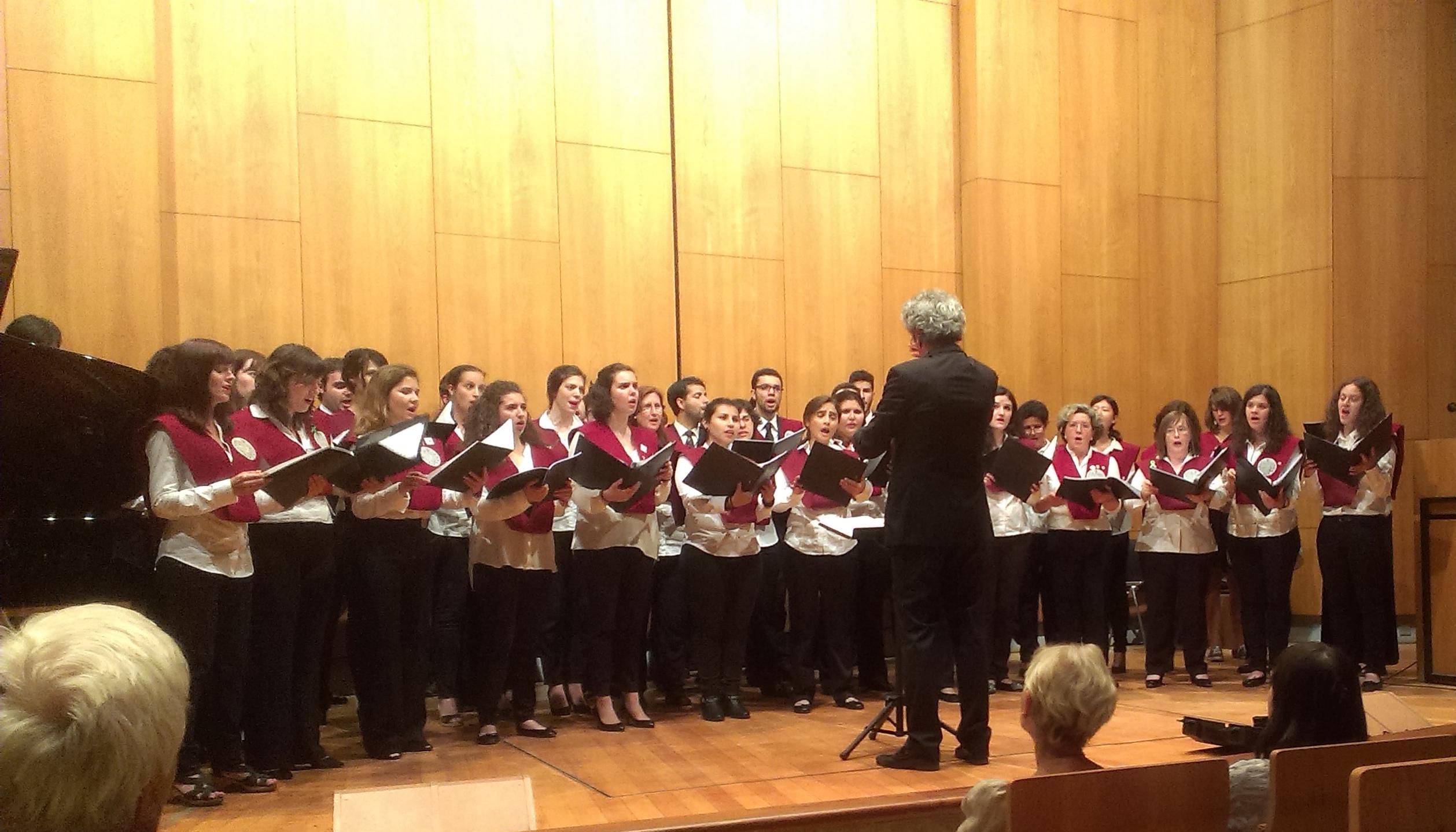El Coro de la Universidad de Salamanca concluye la temporada con dos conciertos en Berlín