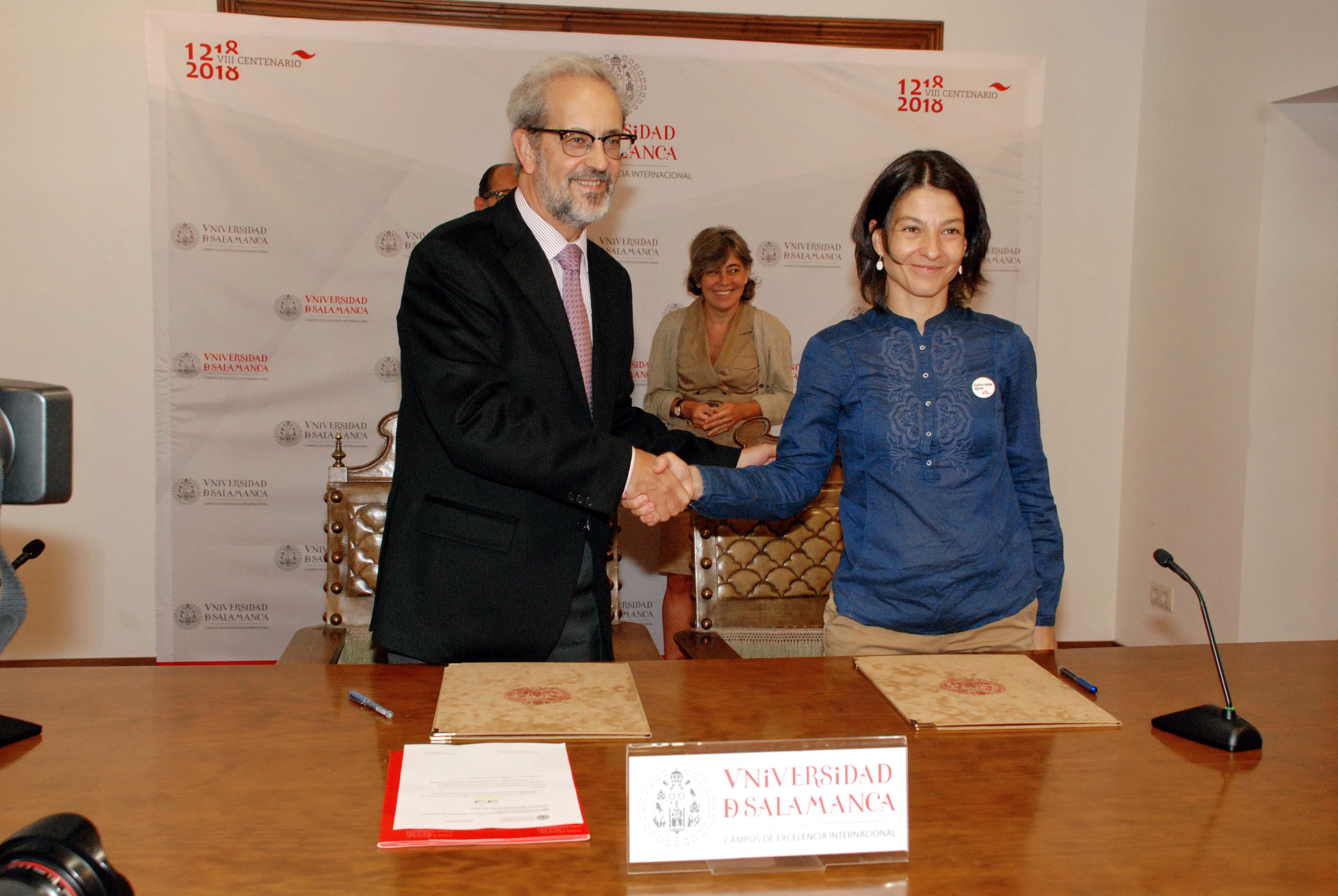 La Universidad de Salamanca colabora activamente en la iniciativa de Médicos Sin Fronteras España 'Salamanca Sin Fronteras'