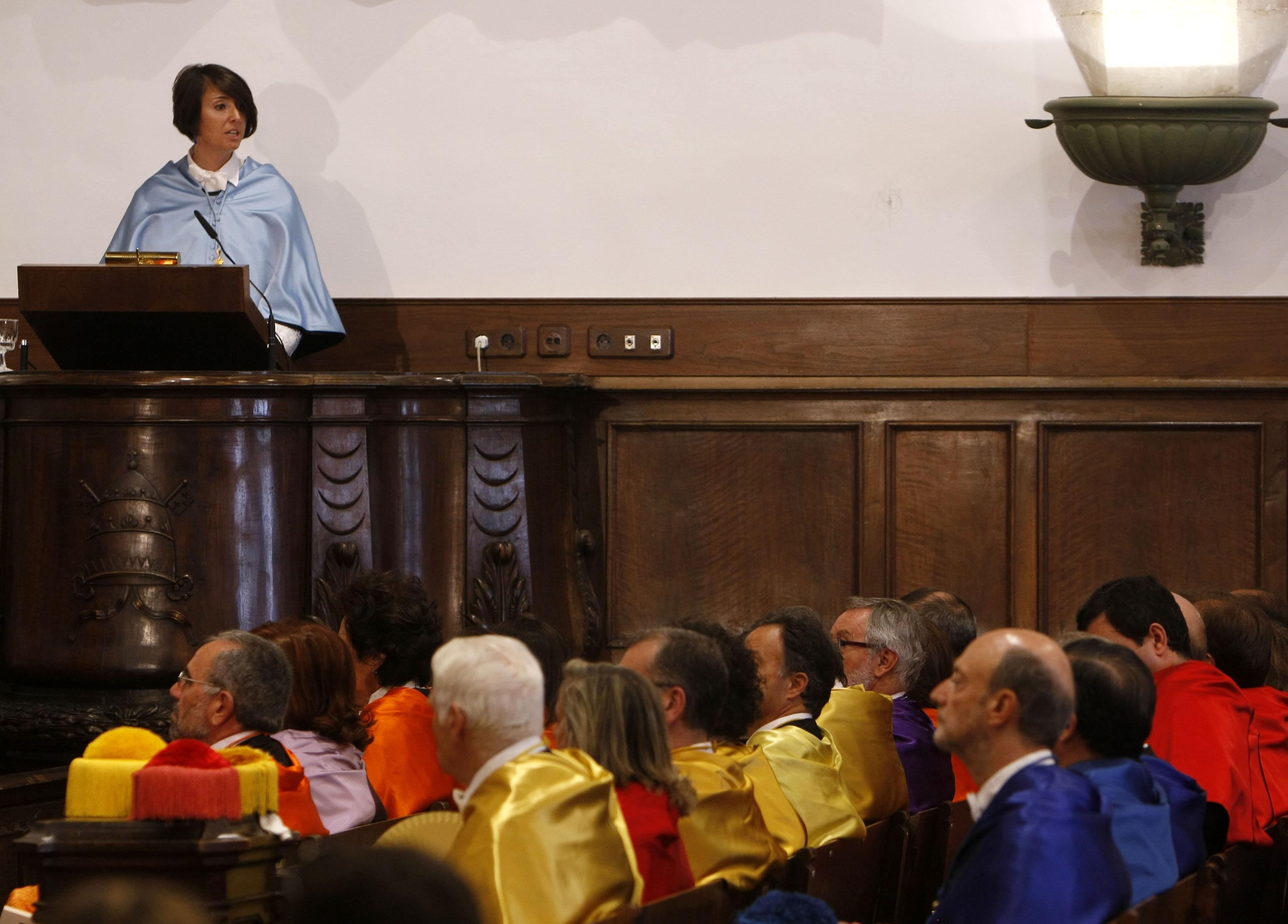 Inauguración del curso académico 2011-2012 de la Universidad de Salamanca