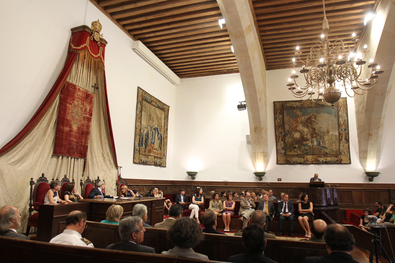 La Universidad de Salamanca inaugura la 50ª edición de los Cursos Internacionales de Lengua y Cultura Españolas con la presencia de estudiantes procedentes de los cinco continentes
