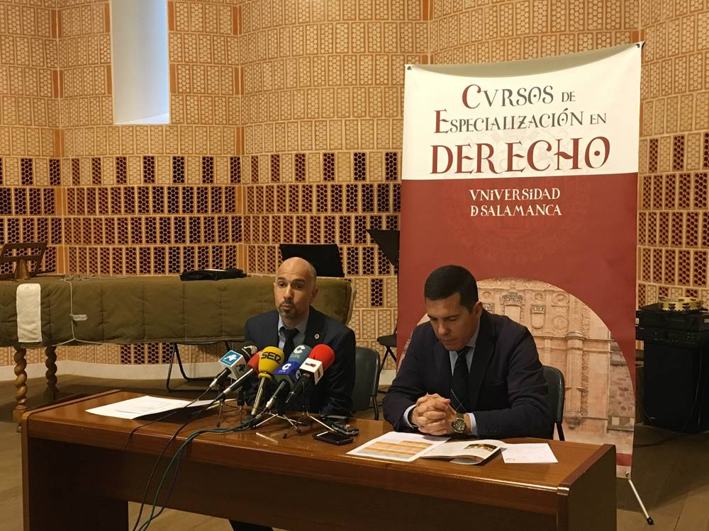 Cerca de 300 alumnos participarán en los Cursos de Especialización en Derecho de la Universidad de Salamanca
