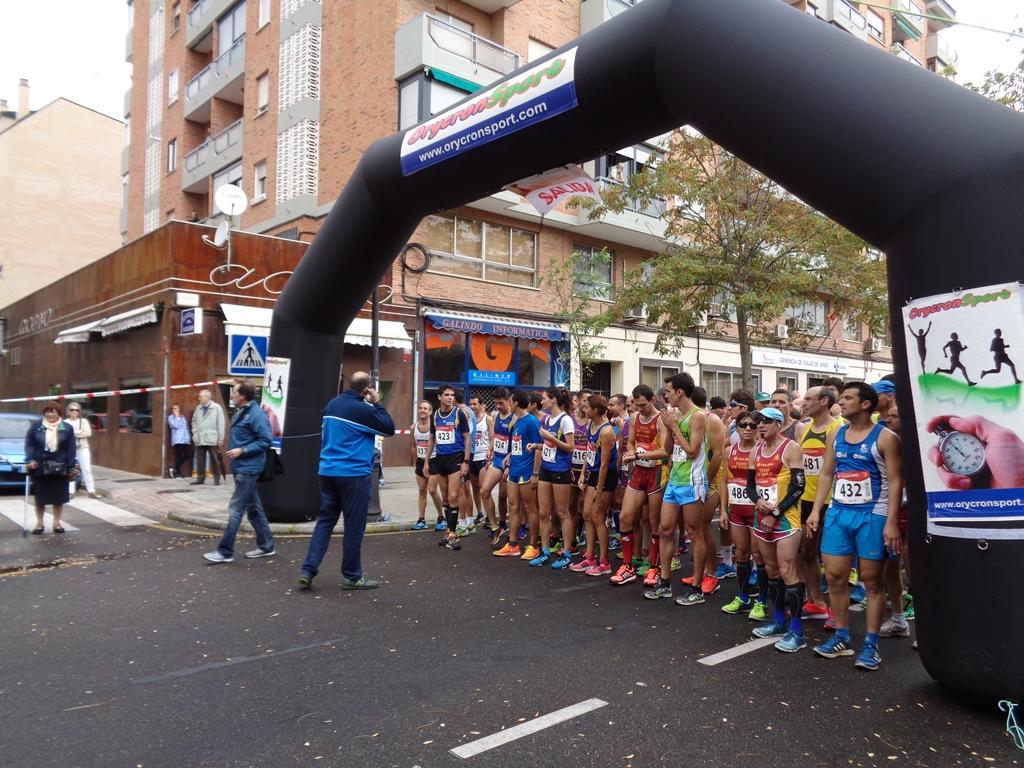 """Gema Martín y Daniel Sanz, ganadores del I Circuito de Carreras Populares """"VIII Centenario de la Universidad de Salamanca"""""""