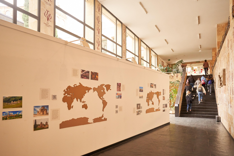 La Facultad de Geografía e Historia acoge una exposición que reivindica el papel integrador de las Humanidades