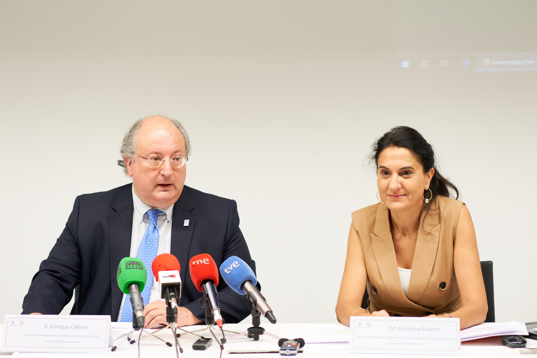 La Universidad de Salamanca pone en marcha un programa piloto para mejorar la inserción laboral de los estudiantes
