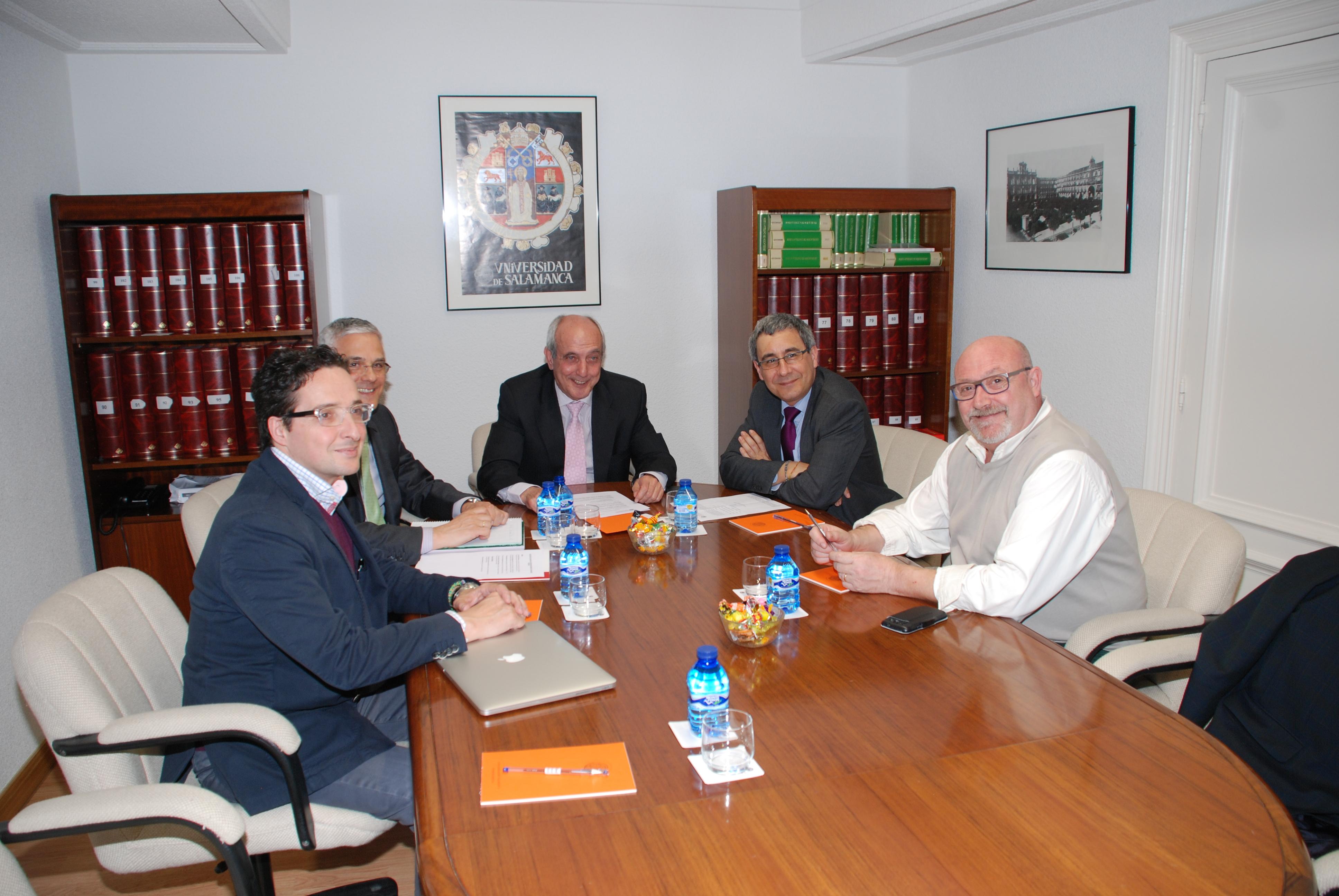 Reunión del jurado de los Premios Sociedad Civil del Consejo Social de la Universidad de Salamanca