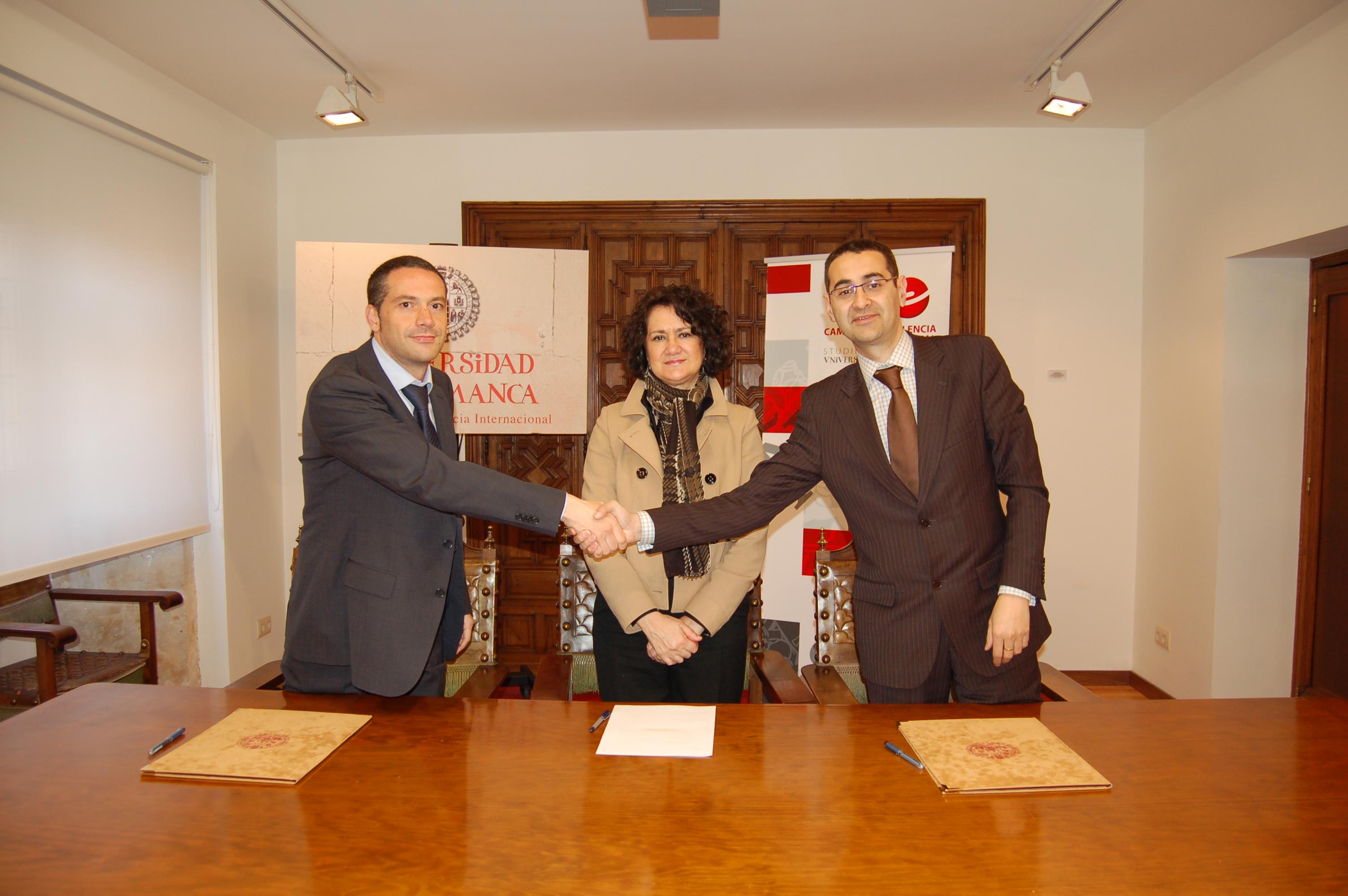 La Universidad de Salamanca suscribe un convenio de colaboración con la empresa Idimás Gestión