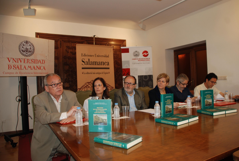 """Presentación del libro """"Procesos de nacionalización en la España Contemporánea"""""""