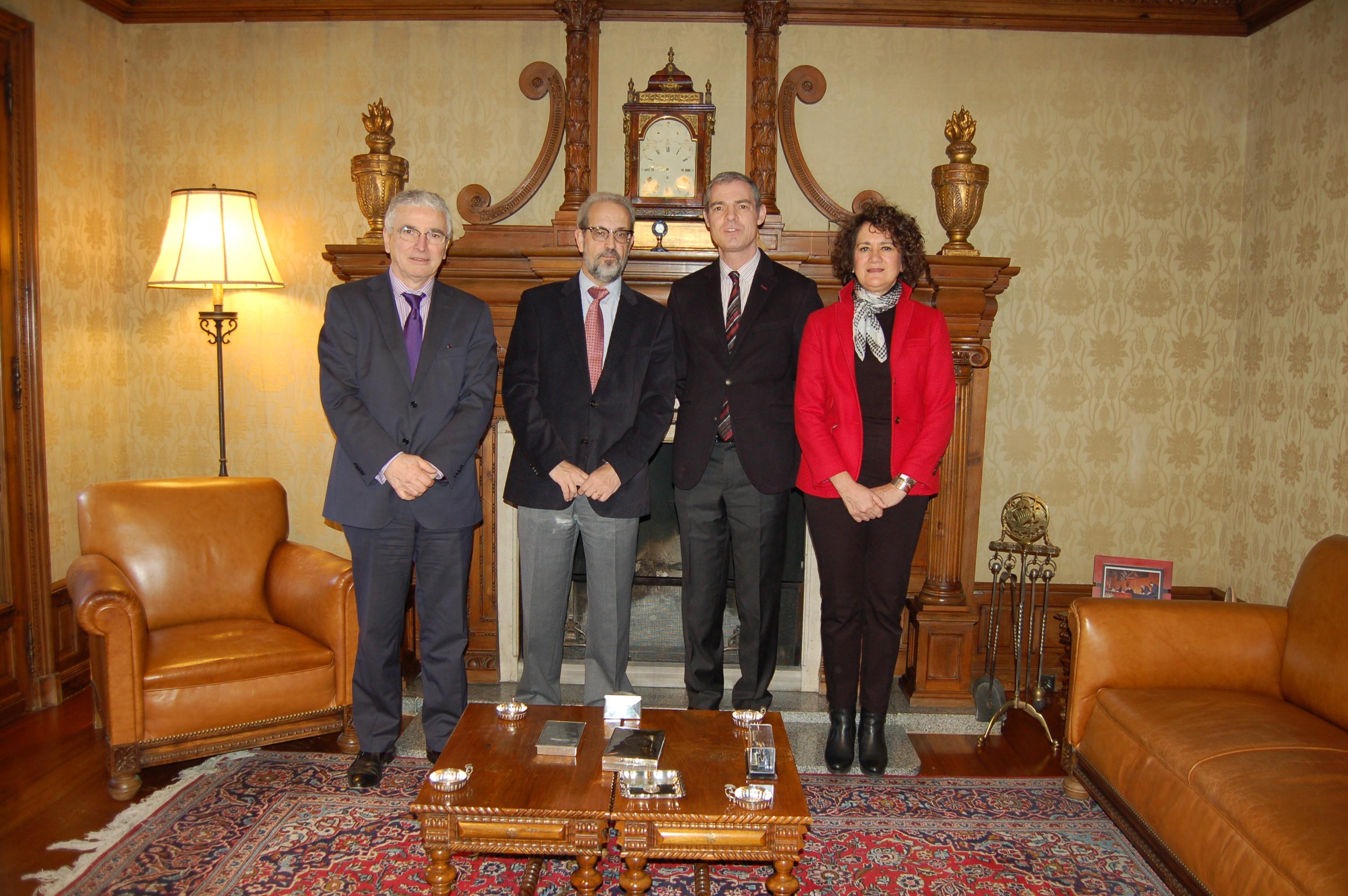 El embajador de Francia en España, Jérôme Bonnafont, ofrece una conferencia sobre el papel de ambos países  frente a desafíos futuros en Europa