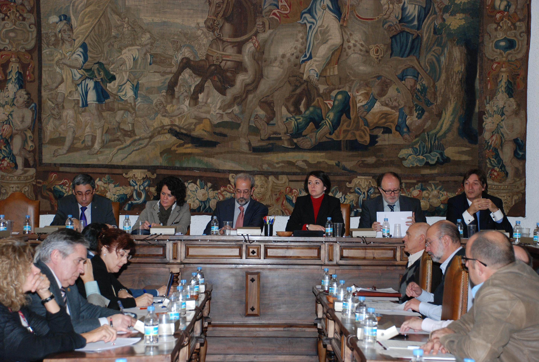 El Consejo de Gobierno de la Universidad de Salamanca celebra la sesión ordinaria del mes de noviembre