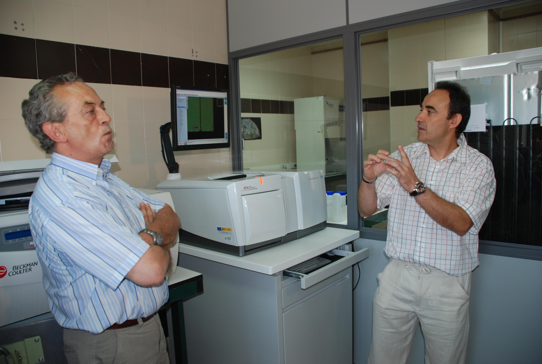 Presentación del ultrasecuenciador Genome Sequencer FLX 454 Life Sciences