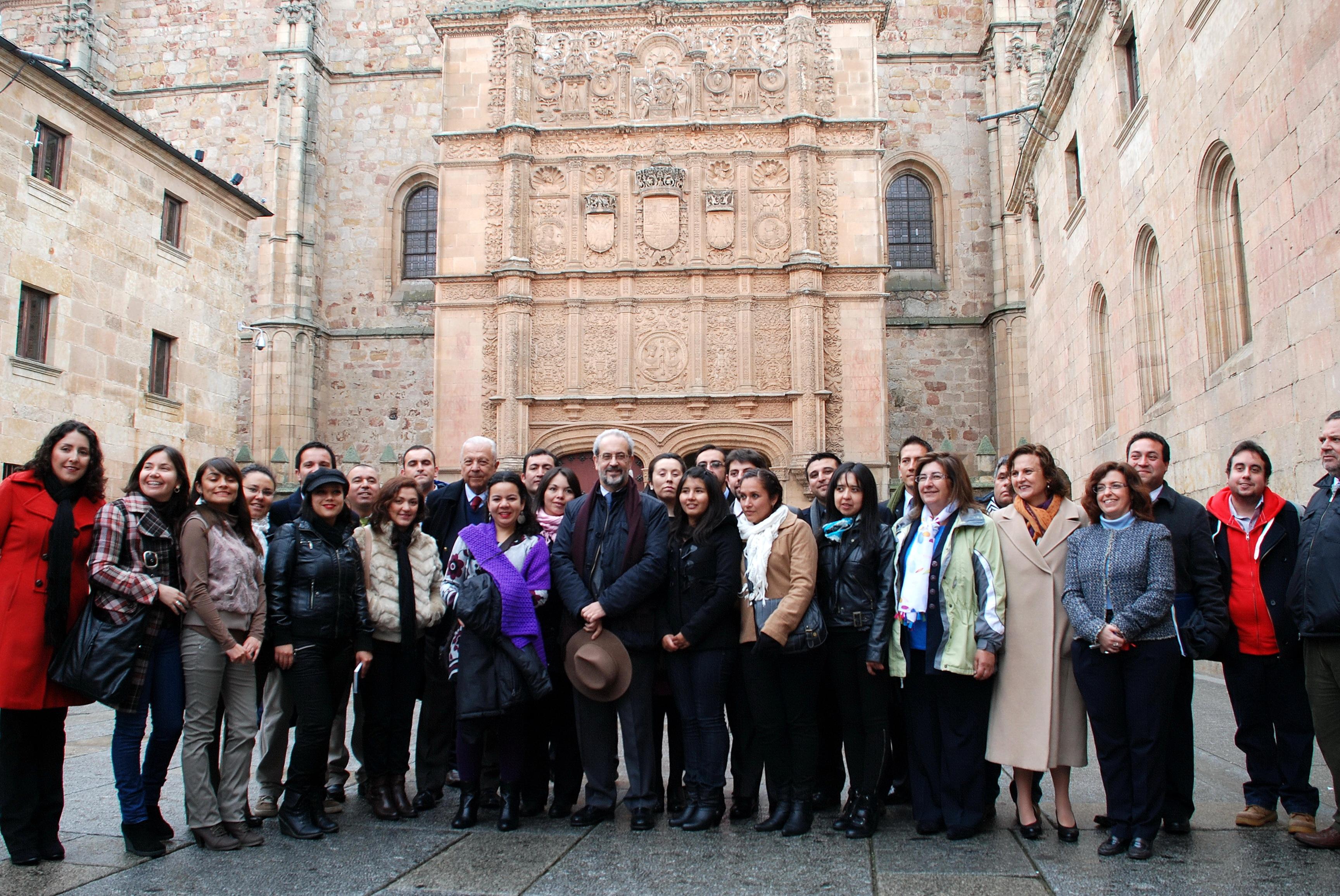 La Universidad de Salamanca forma a 28 profesores chilenos becados para perfeccionar la docencia en matemáticas