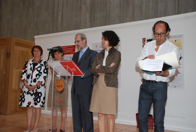 Entrega de Premios e inauguración de la exposición sobre el I Certamen de Divulgación Científica de la Universidad de Salamanca