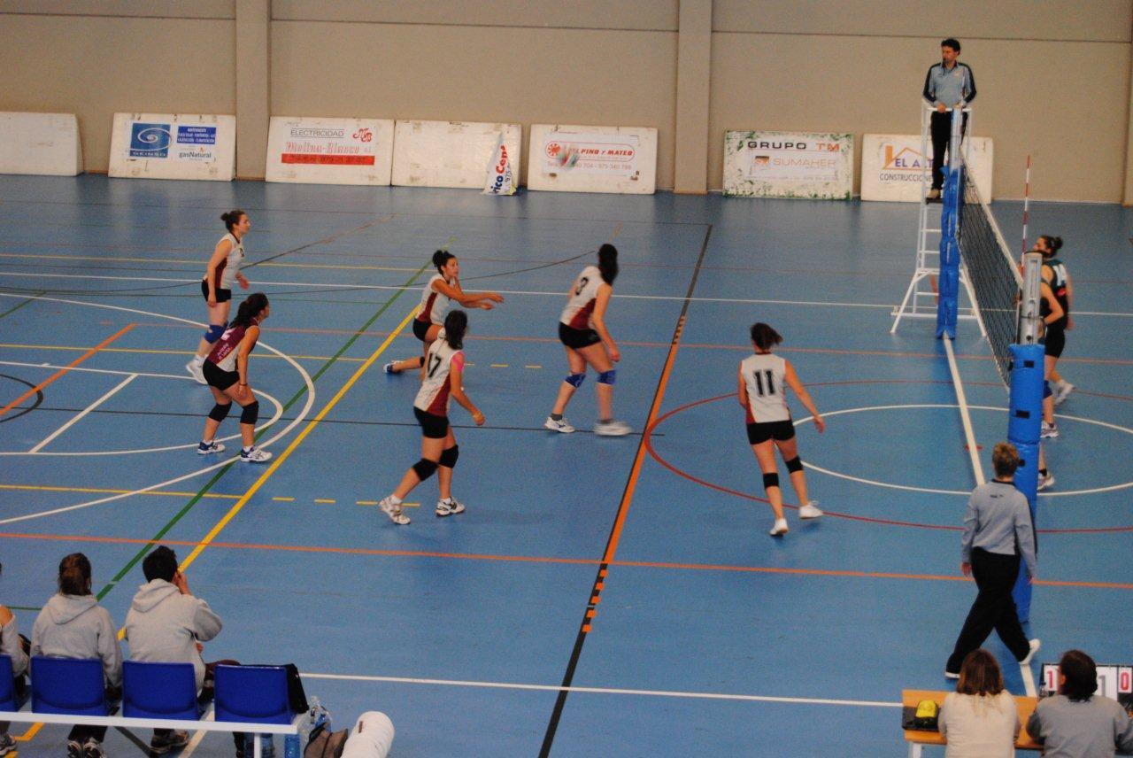 Equipo de voleibol femenino del Club Deportivo Universidad de Salamanca