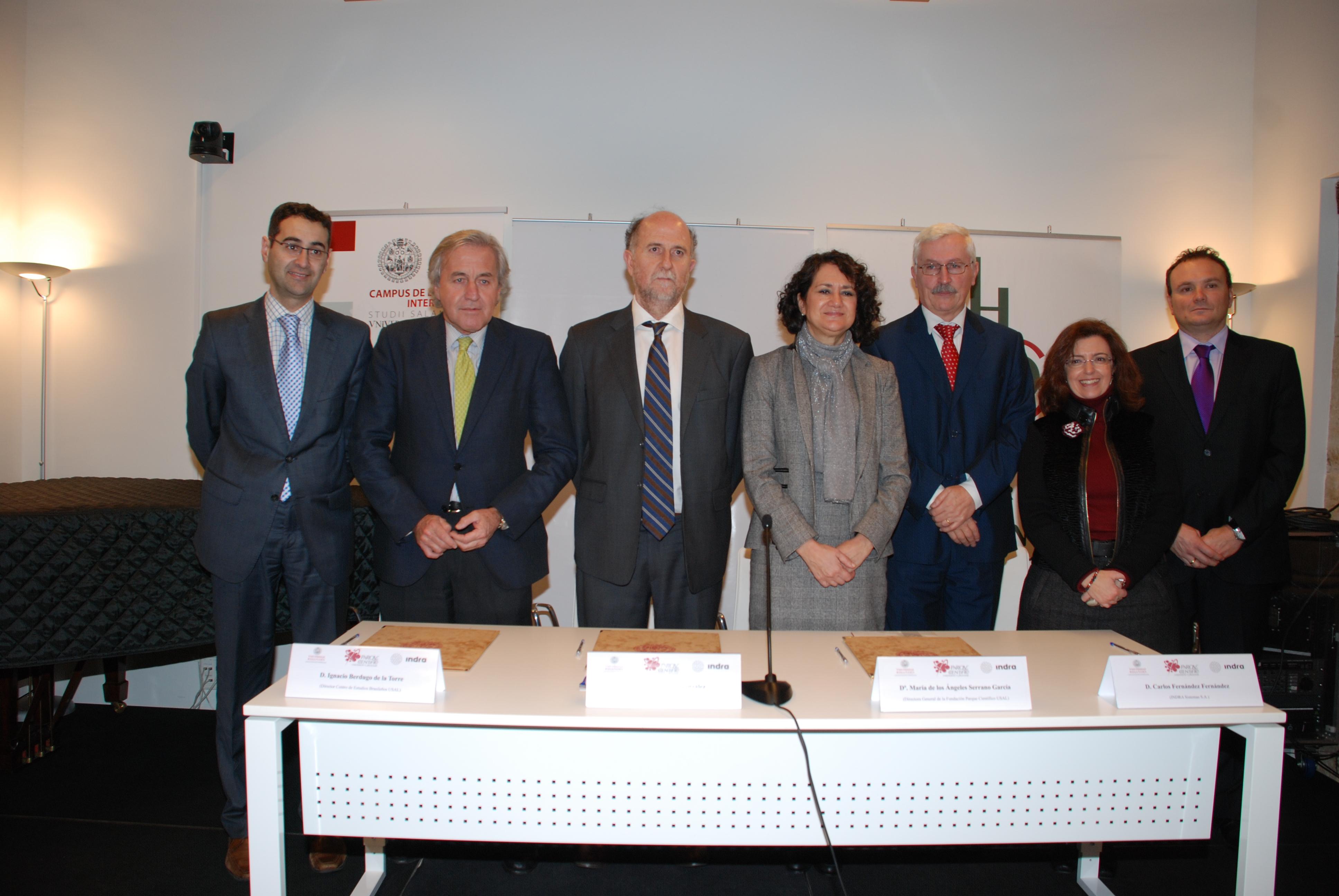 Indra colaborará con el Instituto de Estudios Brasileños de la Universidad de Salamanca para formar y captar talento internacional