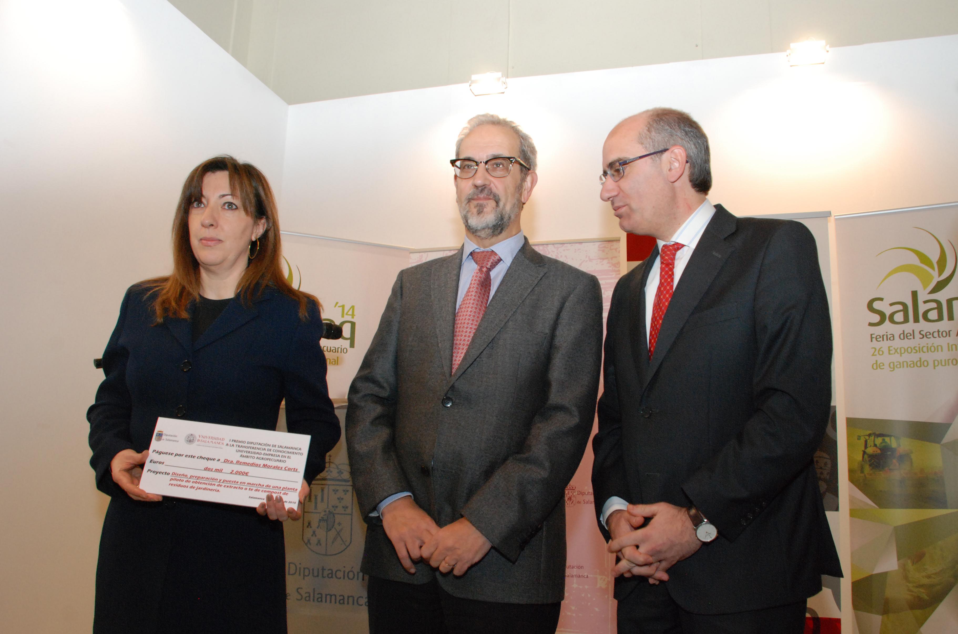 Dos investigadores de la Universidad de Salamanca, premiados por su labor en la transferencia de conocimiento al ámbito agropecuario