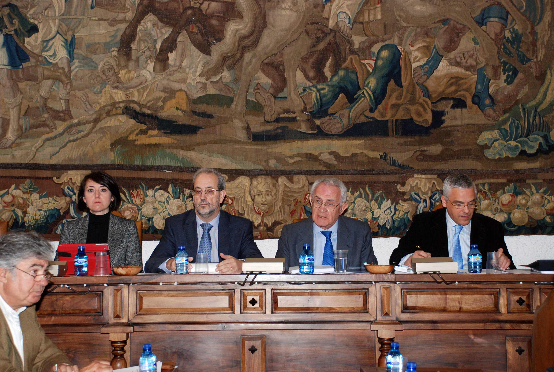 Salvador Sánchez-Terán preside su último pleno del Consejo Social de la Universidad de Salamanca