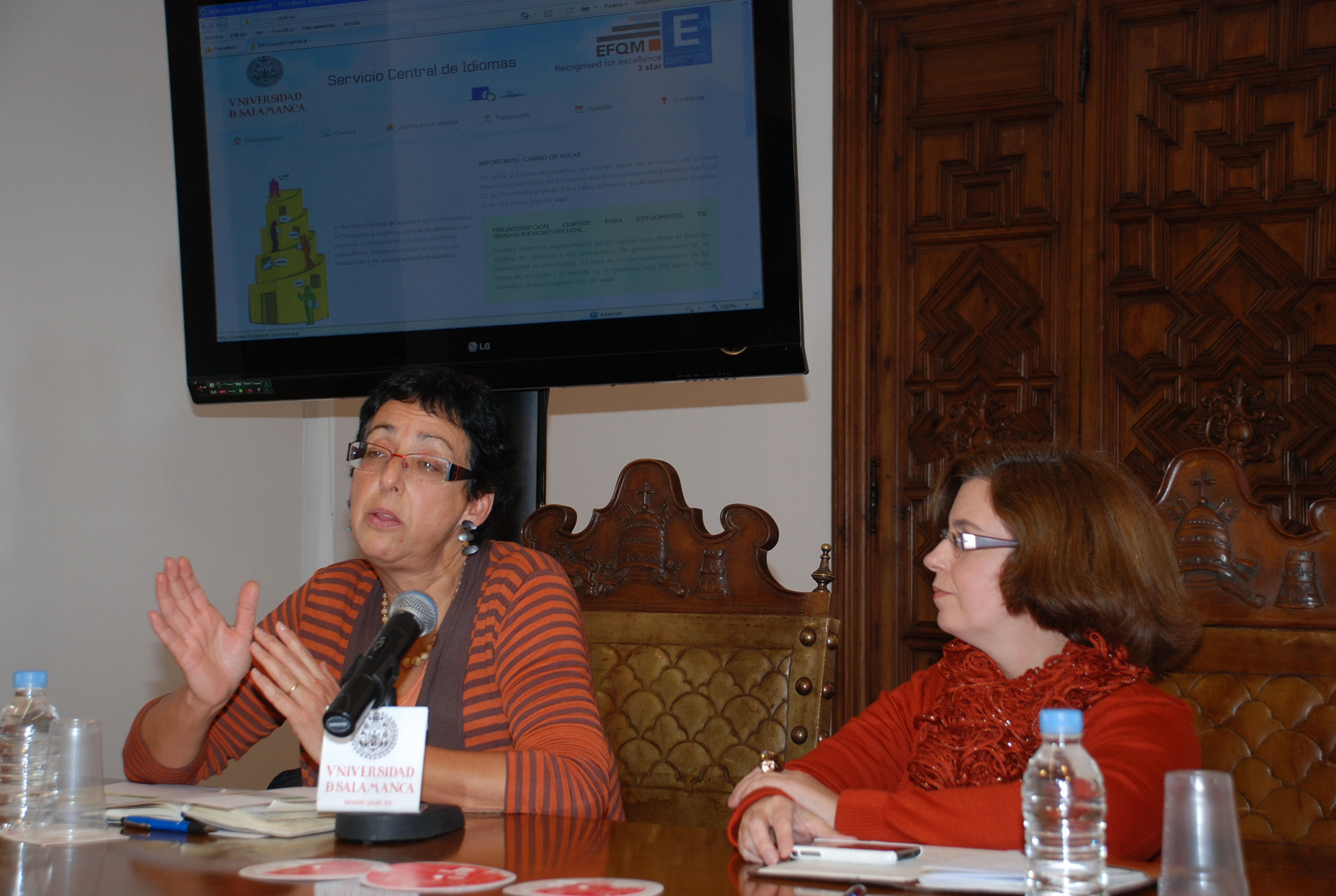 El Servicio Central de Idiomas presenta sus novedades
