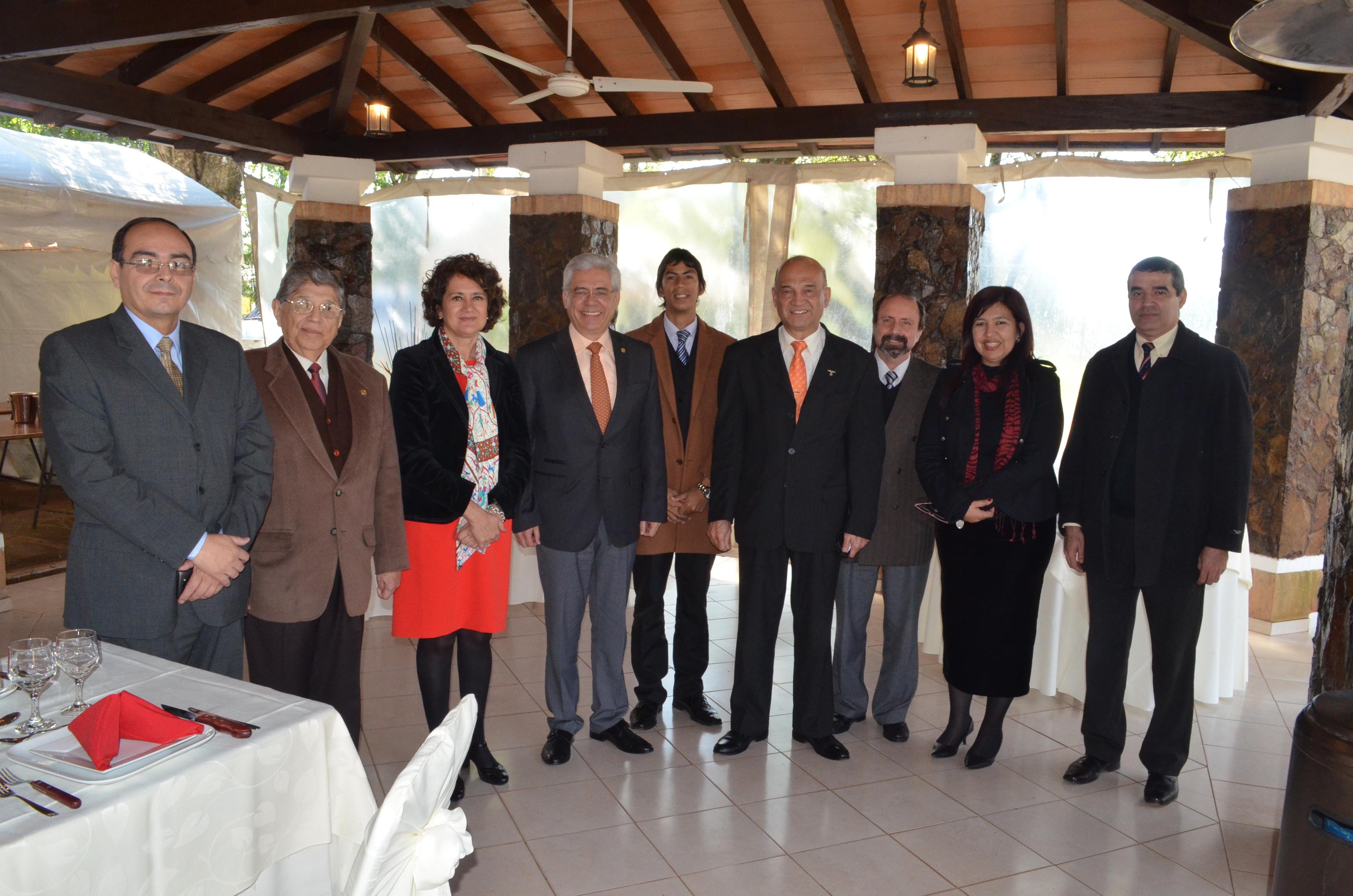 La Universidad de Salamanca refuerza la colaboración con las universidades de Columbia y Nacional de Asunción de Paraguay