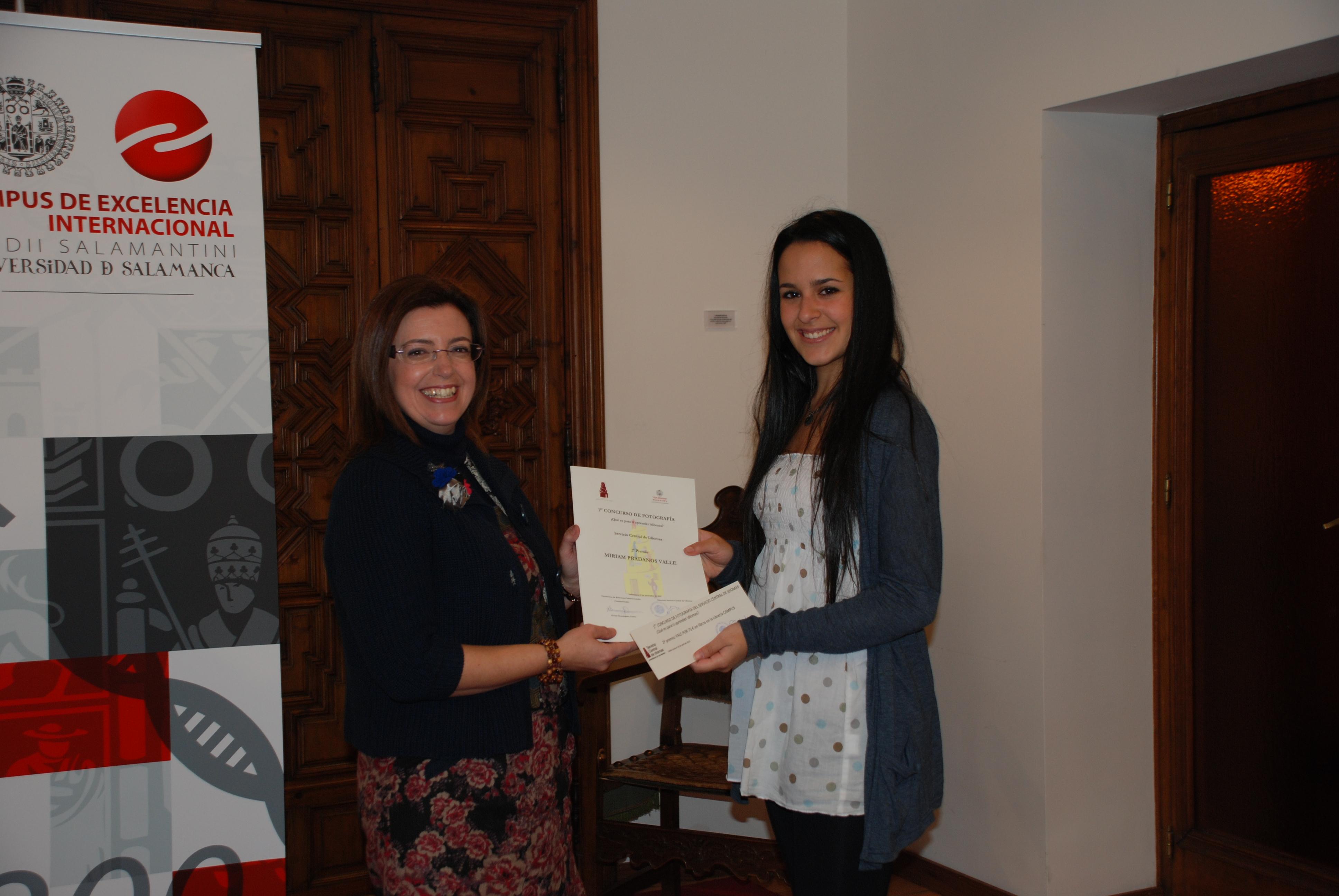 El Servicio Central de Idiomas entrega los premios de la primera edición de su Concurso de Fotografía