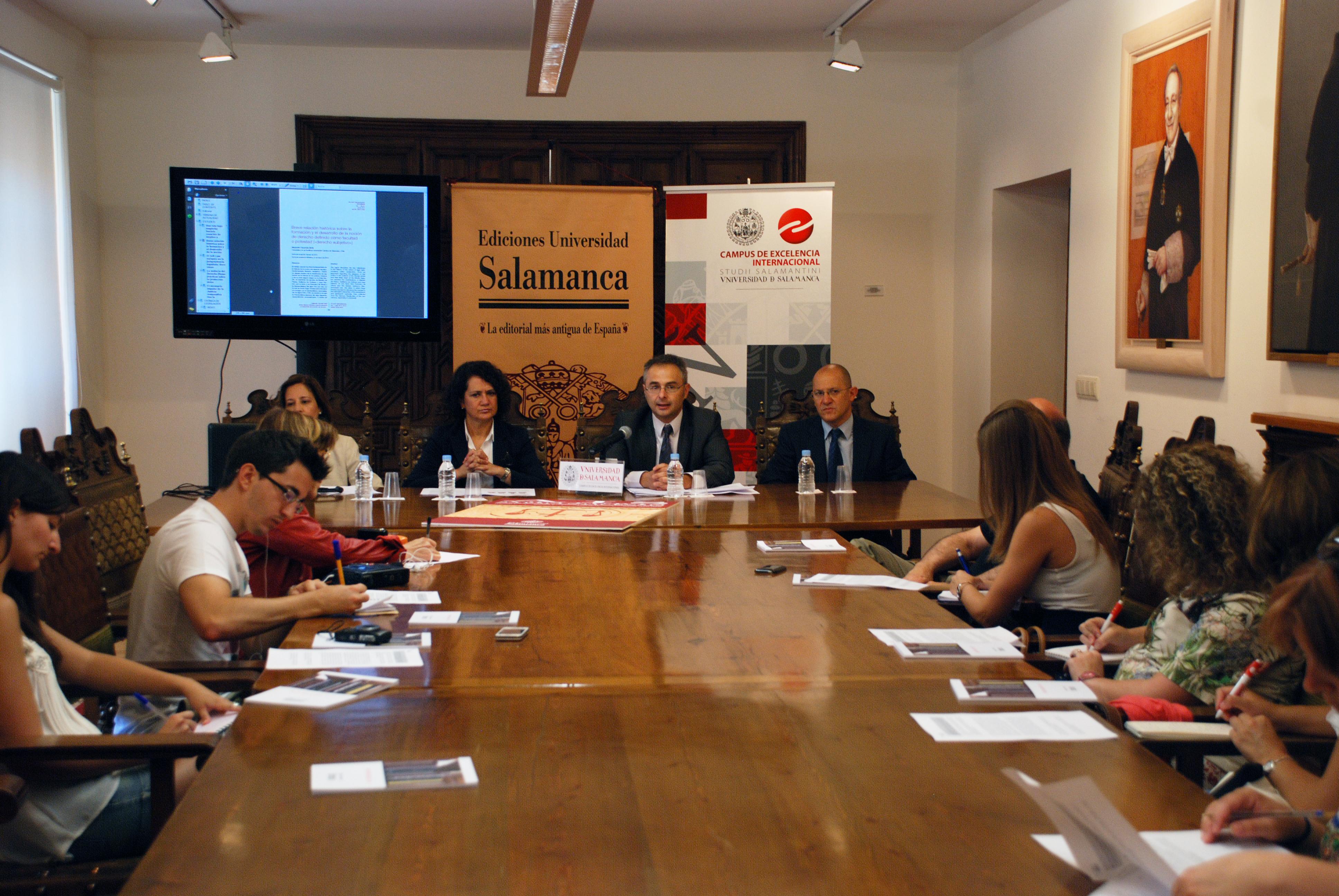 La Facultad de Derecho auspicia la revista 'Ars Iuris Salmanticensis' sobre pensamiento y análisis de Derecho, Ciencia Política y Criminología
