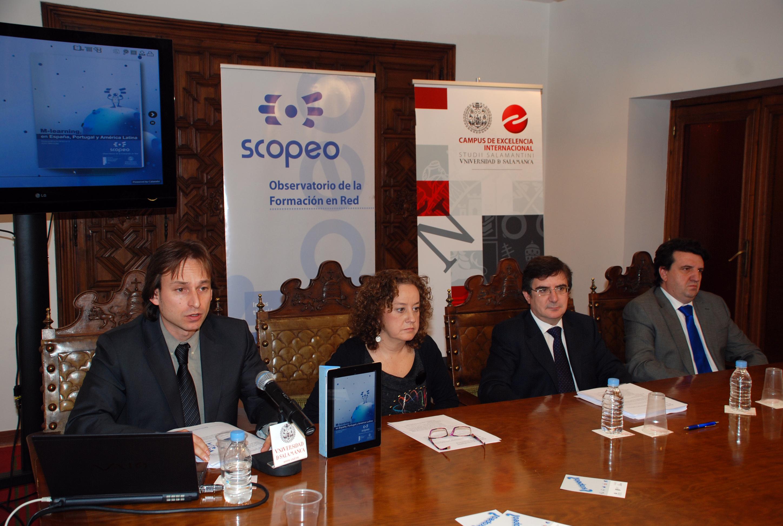 El Observatorio Scopeo presenta un monográfico sobre el 'M-learning en España, Portugal y América Latina'