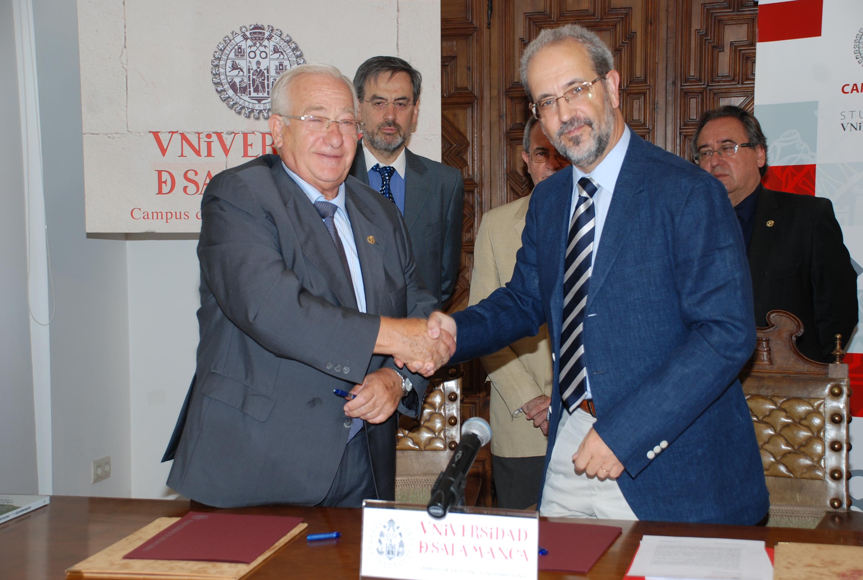 La Universidad de Salamanca y la Fundación Huarte de San Juan colaborarán en la formación e inserción profesional estudiantes de Psicología