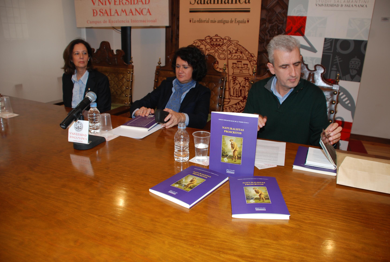 Ediciones Universidad de Salamanca presenta el libro 'Naturalistas proscritos'