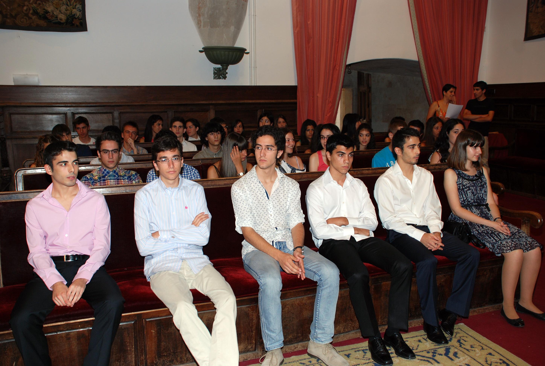 Un total de 114 jóvenes reciben los Premios de Acceso a los mejores estudiantes de Selectividad de 2012