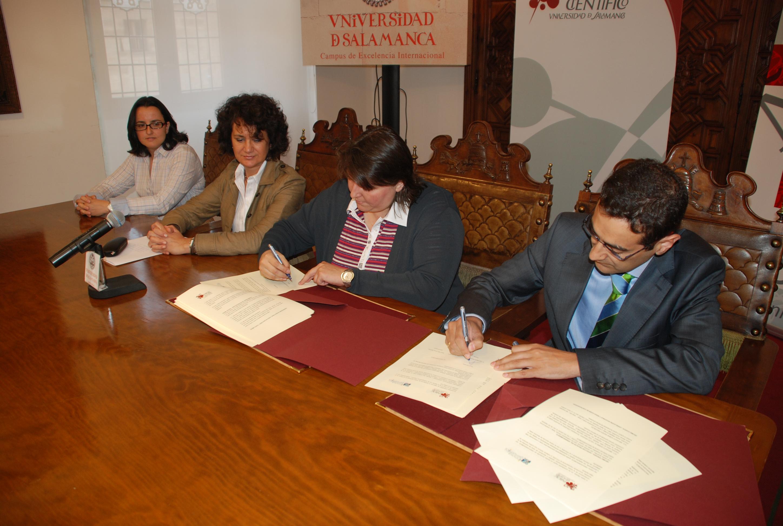Firma del convenio entre el Parque Científico e Innovagenomics