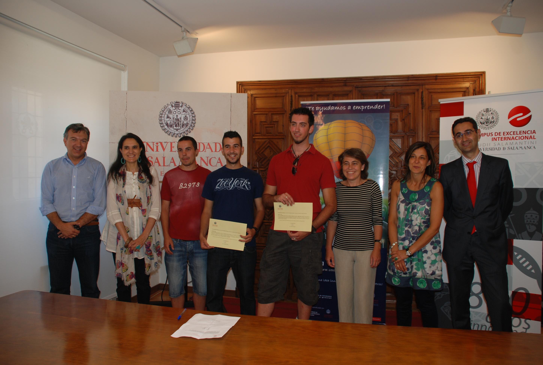 El Servicio de Inserción Profesional entrega los premios del Concurso Proyectos Emprendedores Universitarios