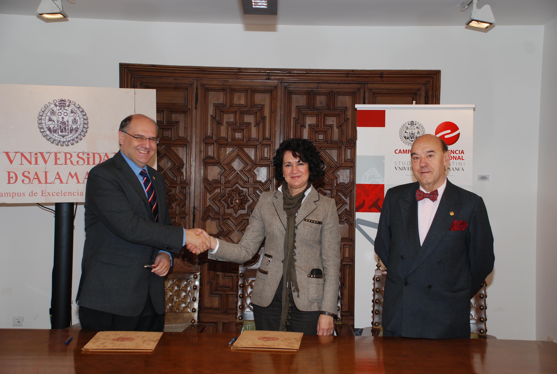Firma del convenio de colaboración con la Fundación Iberoamericana para la investigación y prevención de las enfermedades renales y cardiovasculares