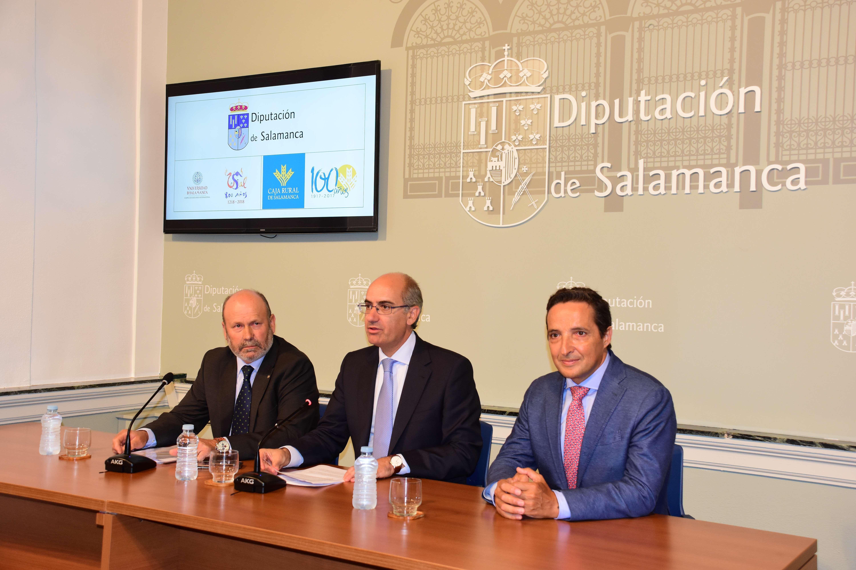 Diputación, Caja Rural y Universidad de Salamanca sellan una colaboración para respaldar proyectos de investigación aplicados al sector primario