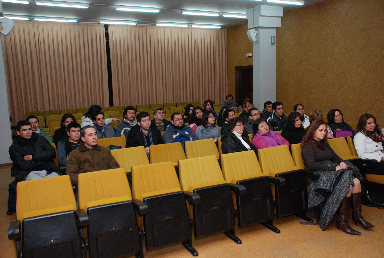 Estudiantes chilenos realizan pasantía en la Usal