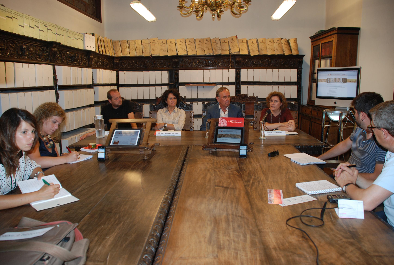 Presentación de la nueva web de la Biblioteca General Histórica