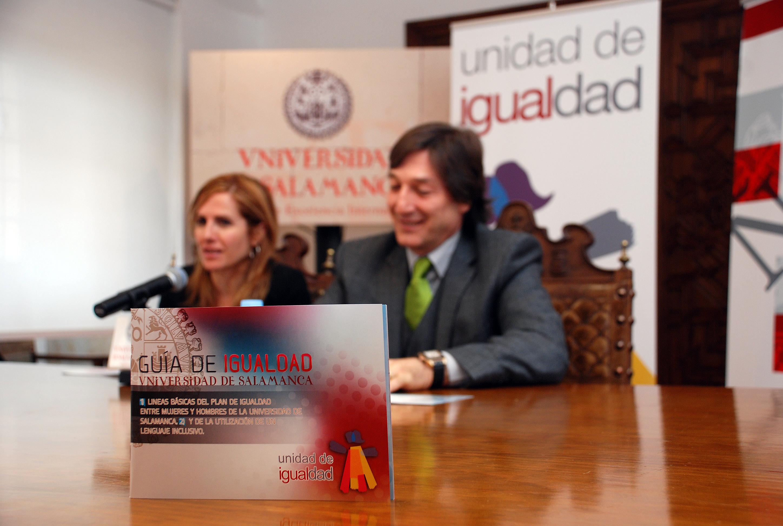 'La Guía de la Igualdad de la Universidad de Salamanca' velará por la igualdad efectiva entre ambos sexos dentro de la institución académica