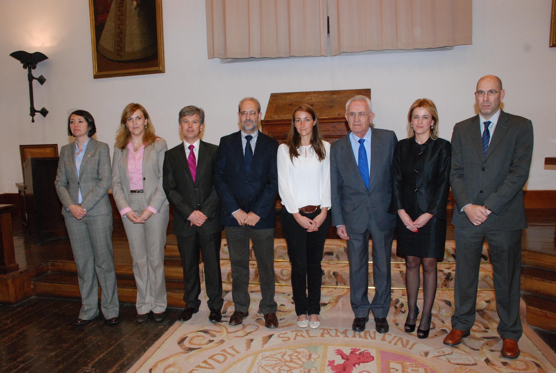 La profesora Eva Martín del Valle y las empresas INDRA y Cenit Support Systems reciben los premios 'Sociedad Civil' del Consejo Social