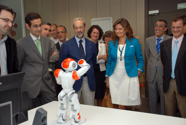 El rector de la Universidad de Salamanca inaugura el edificio M3, la mayor infraestructura del Parque Científico