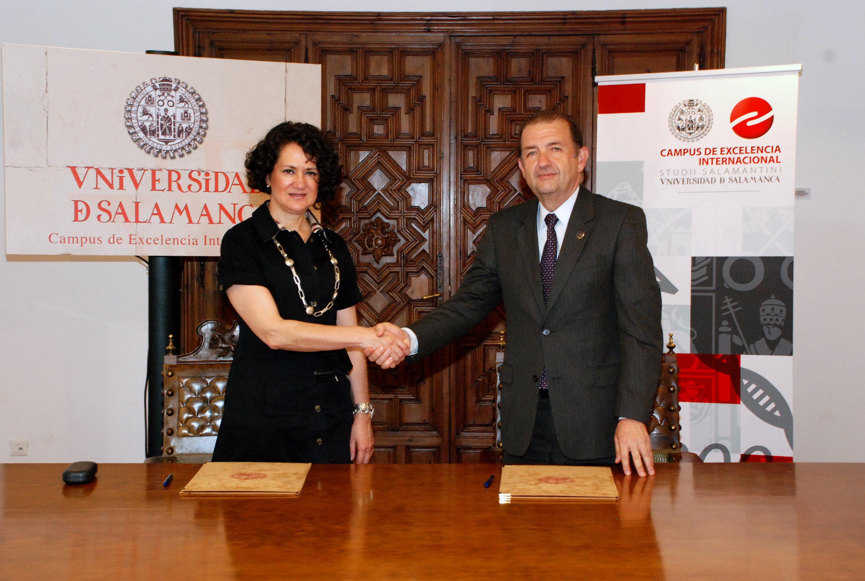 La Universidad de Salamanca y la Universidad CES de Colombia suscriben un convenio de colaboración
