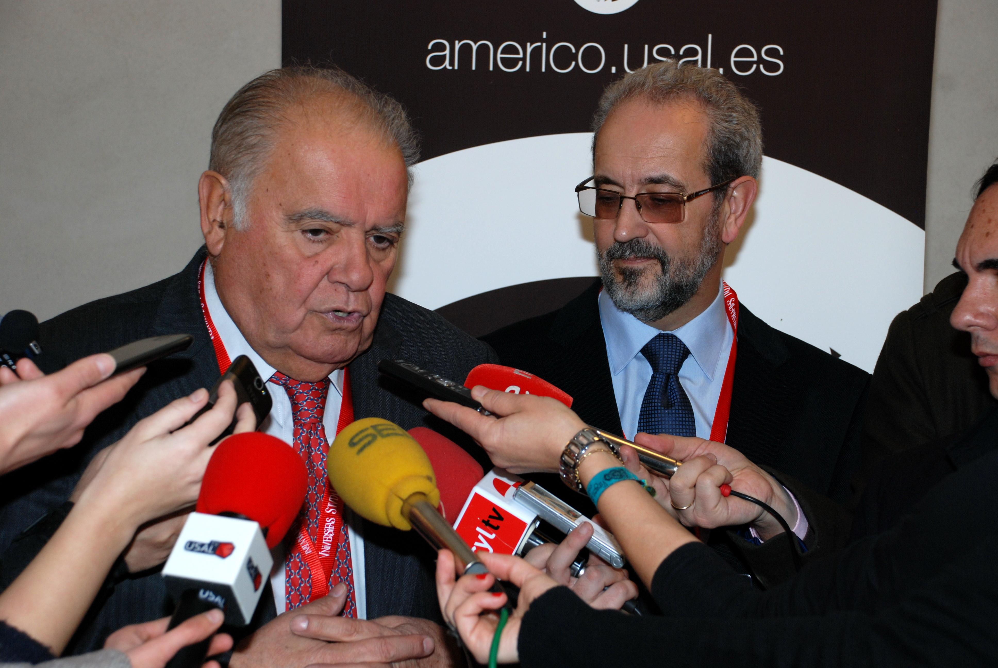 Enrique V. Iglesias, secretario General Iberoamericano, inaugura el  II Curso sobre 'Las Relaciones Internacionales de América Latina'