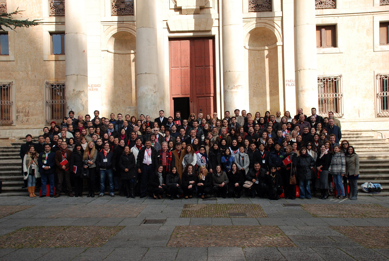 Participantes en los XXX Cursos de Especialización en Derecho