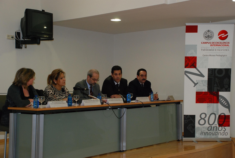 Acto de presentación del Museo Pedagógico de la Universidad de Salamanca