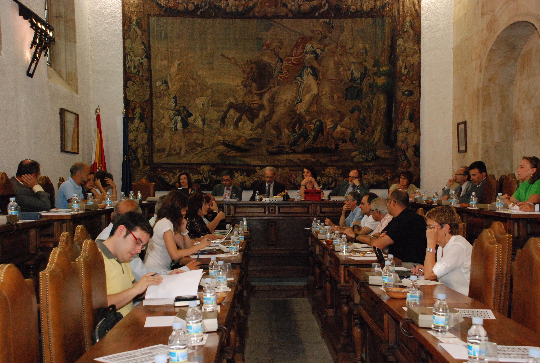 El Consejo de Gobierno de la Universidad de Salamanca aprueba la programación docente para el curso 2012-2013